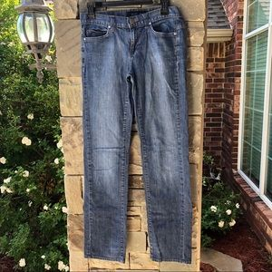 Calvin Klein Skinny Faded Blue Jeans Women Sz 4